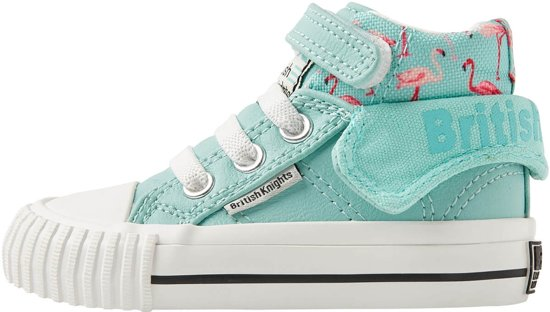 67786dc495d bol.com | British Knights ROCO Baby meisjes sneakers hoog - Mint ...
