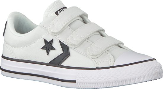 Converse Jongens Sneakers Star Player 3v Ox Kids Wit Maat 27
