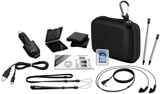 Bigben Natural Accessoirepakket 3DS - Zwart