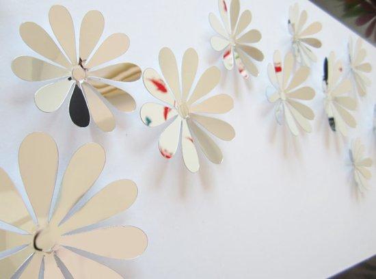 Spiegel Stickers Kopen : Bol d bloemen stickers muurstickers spiegel stuks