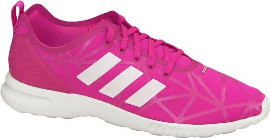 Adidas ZX Flux Adv Smooth W S79502, Vrouwen, Roze, Sportschoenen maat: 38 2/3 EU