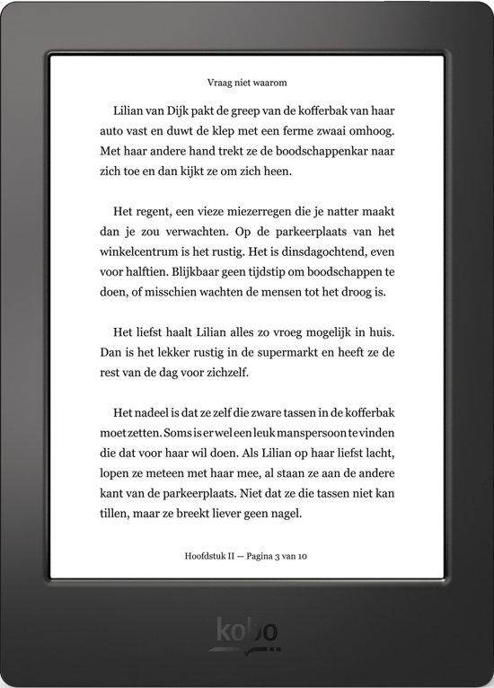 Kobo Aura H2O Edition 1 (2014) refurbished - Zwart - e-reader