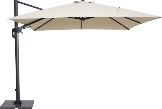Zweefparasol Met Voet En Hoes.Garden Impressions Hawaii Zweefparasol Inclusief Parasolvoet En Hoes 300x300 Ecru