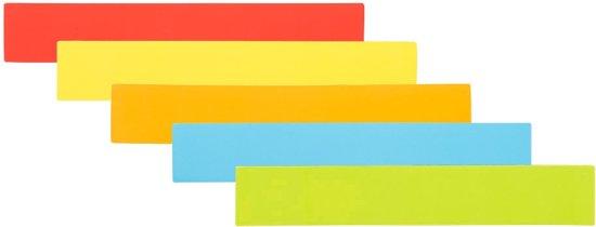 25 Magneten Balk 15 cm Mix - 5 kleuren