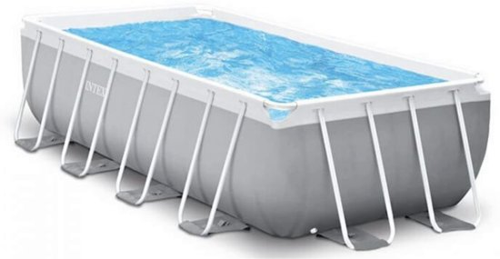 Intex ultra frame zwembad 427 x 107 for Intex mini frame pool afdekzeil