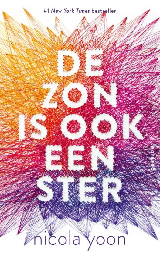 Boek cover De zon is ook een ster van Nicola Yoon (Paperback)