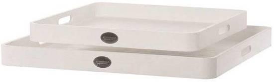 Dienblad Basic white s/2 60cm
