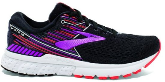 Brooks Adrenaline GTS 19 zwart hardloopschoenen dames