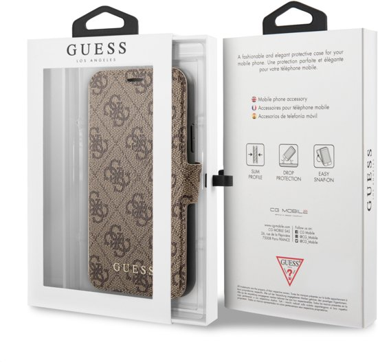 Guess 4G Book Case voor Apple iPhone 11 (6.1
