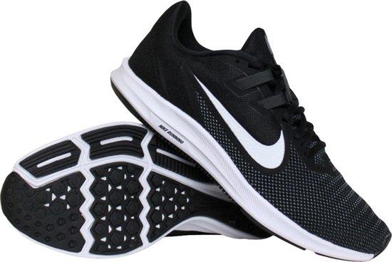   Nike Downshifter 9 hardloopschoenen dames zwartwit