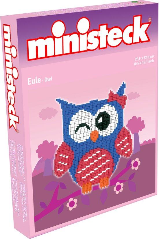Ministeck Uil Blauw