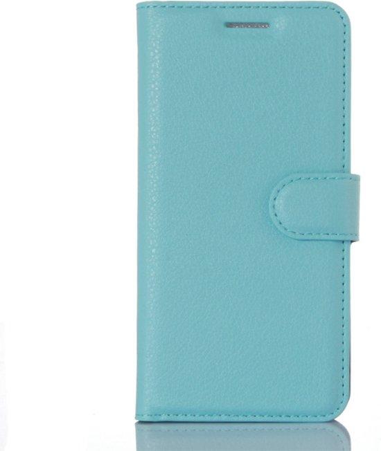 Xiaomi Mi 5 Booktype Hoesje Litchi - Blauw in Posthoorn