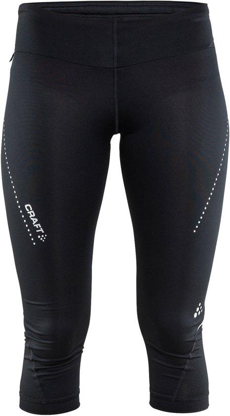 Craft essential capri w - Sportbroek - Dames - Black - S