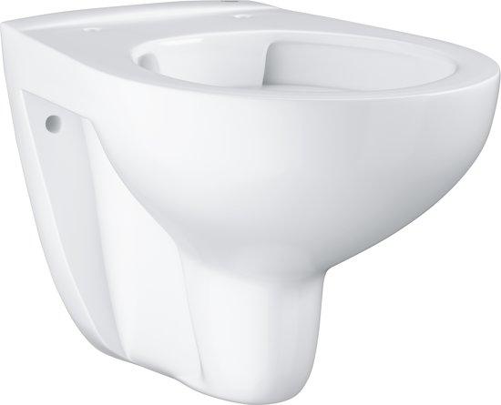 Hangend Toilet Afmetingen : Bol.com grohe bau hangend toilet exclusief toiletbril keramiek