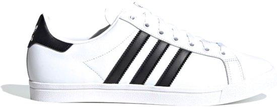 adidas Coast Star Heren Sneakers Ftwr WhiteCore BlackFtwr White Maat 42