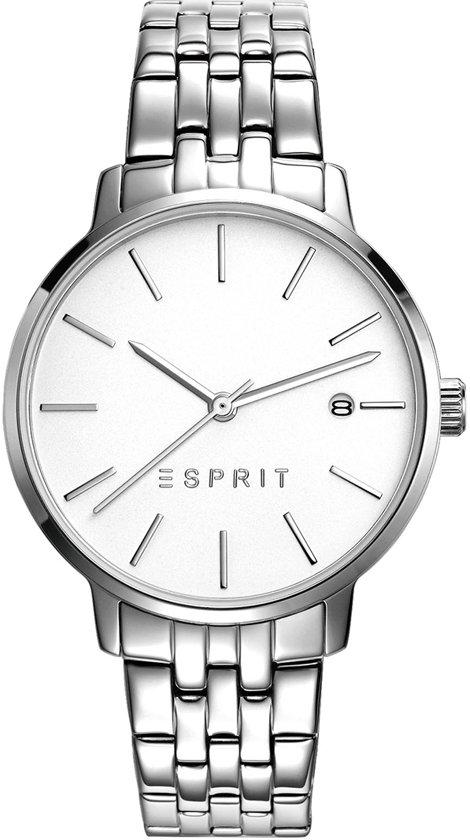 Esprit ES109332004 Horloge - Staal - Zilverkleurig - Ø 34 mm