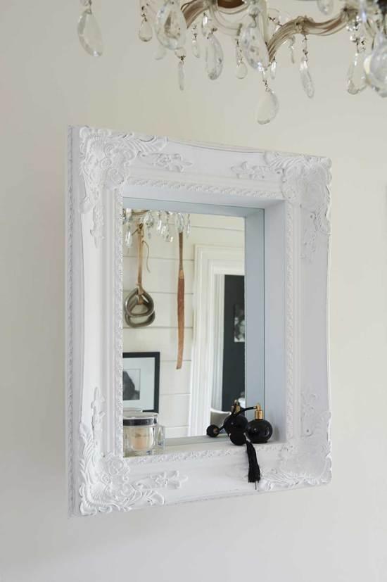 Riviera Maison Spiegel.Riviera Maison Hampton Mirror Spiegel 85 X 65 Cm Wit