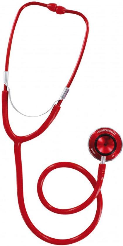 Spengler Stethoscoop Stethocolor Double Head Rood