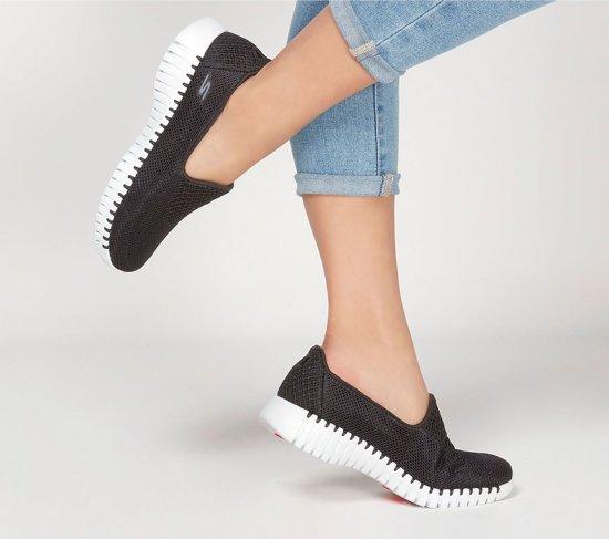Skechers Sneakers - Maat 42 Vrouwen Zwart/wit G3ArFUMA
