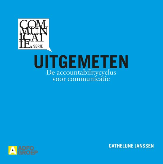 Communicatiereeks - Uitgemeten