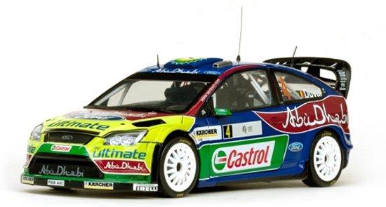 Sunstar Ford Focus RS WRC Tour de Corse 2008 - Duval - Pivato
