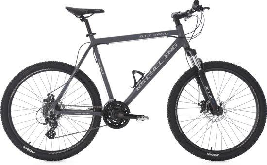 Ks Cycling Fiets 26 inch hardtail-mountainbike GTZ met 24 versnellingen -