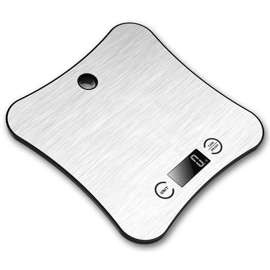 Keukenweegschaal met doorweegfunctie - Weeg tot 5 kilo met 1 gram nauwkeurigheid