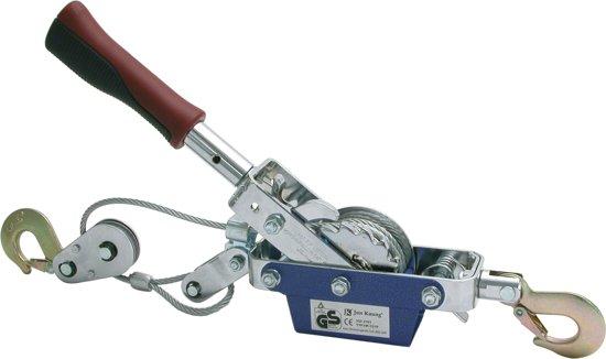 Carpoint Handlier Met Kabel 800 Kg Zilver