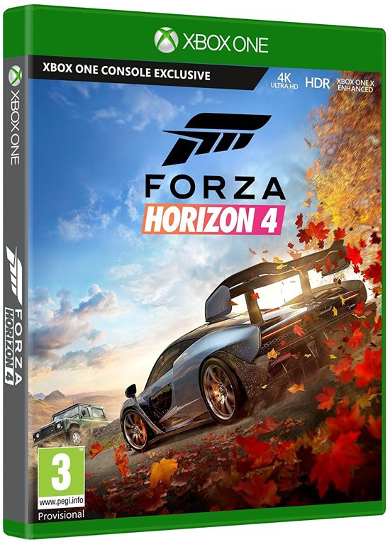 Cover van de game Forza Horizon 4: Standard Edition - Xbox One