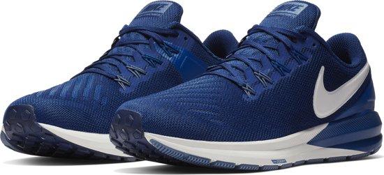 Nike Air Zoom Structure 22 Sportschoenen Heren - Blue Void/Vast Grey-Gym Blue-Diffused Blue
