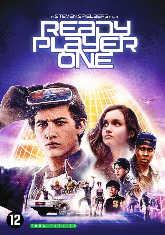DVD cover van Ready Player One