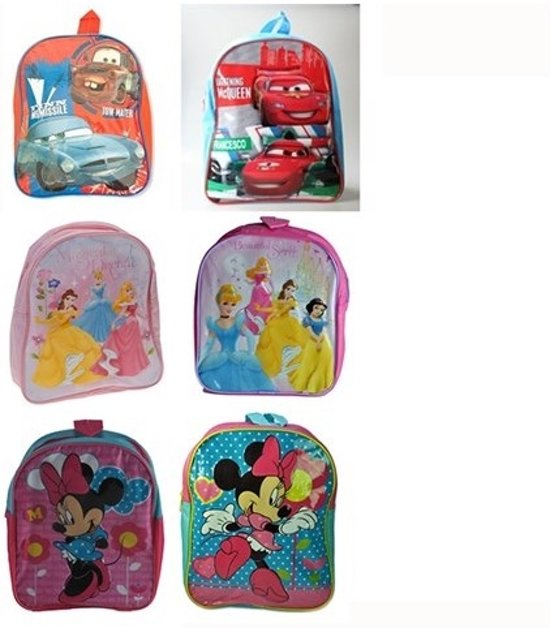 42b293a532a bol.com | Kinder rugzak / rugtas Cars