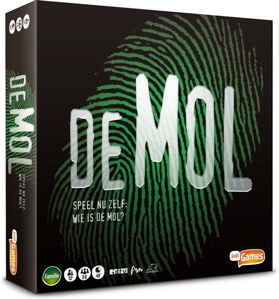 Wie is de Mol? Bordspel voor €15,99
