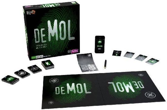 Wie is de Mol? - Bordspel