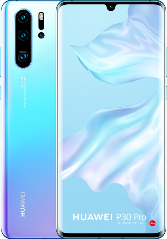 Huawei P30 Pro - 256GB - Blauw (Breathing Crystal)