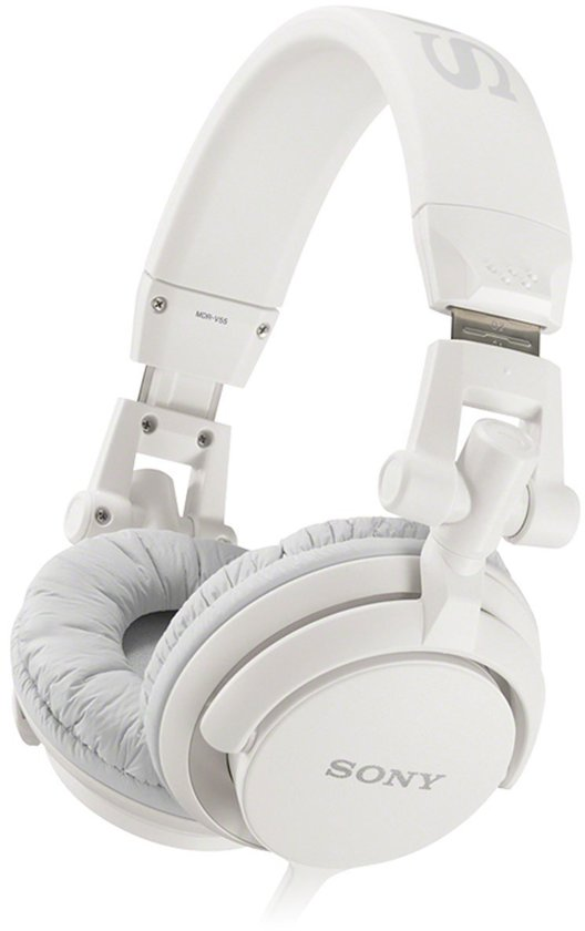 Sony MDR-V55 - On-ear koptelefoon - Wit