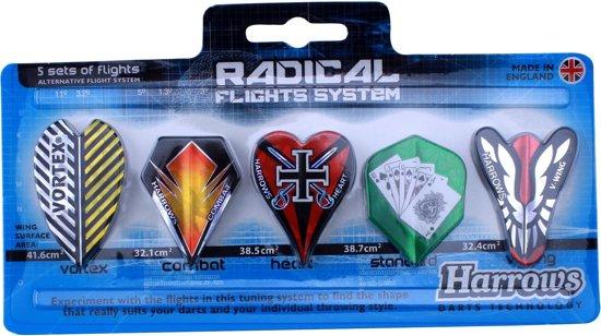 Harrows Flight Radical Set - 5 stuks