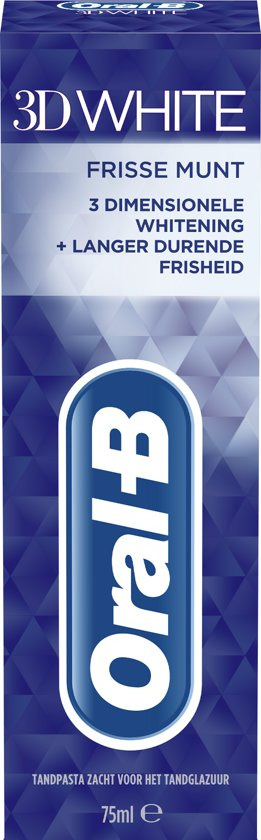 Oral-B 3D White Frisse Munt 75ml