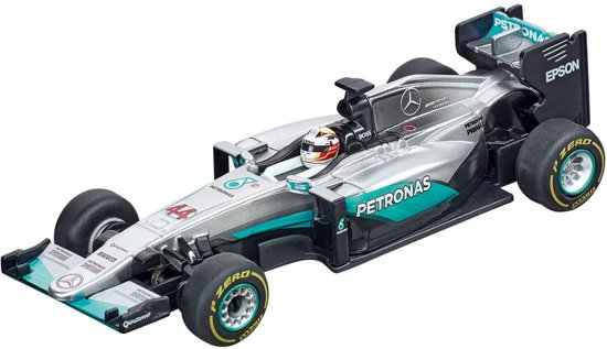 "Carrera GO!!! Mercedes F1 W07 Hybrid ""L.Hamilton, No.44"" - Racebaanauto"