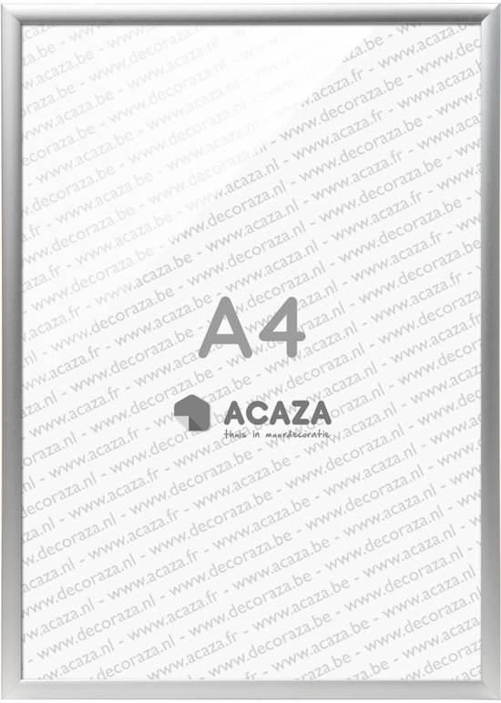Fotolijst A4 Formaat.Acaza Solid Aluminium Fotolijst A4 21x29 7cm Zilver