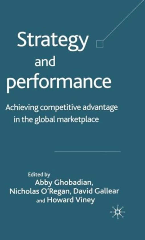 Strategy and Performance