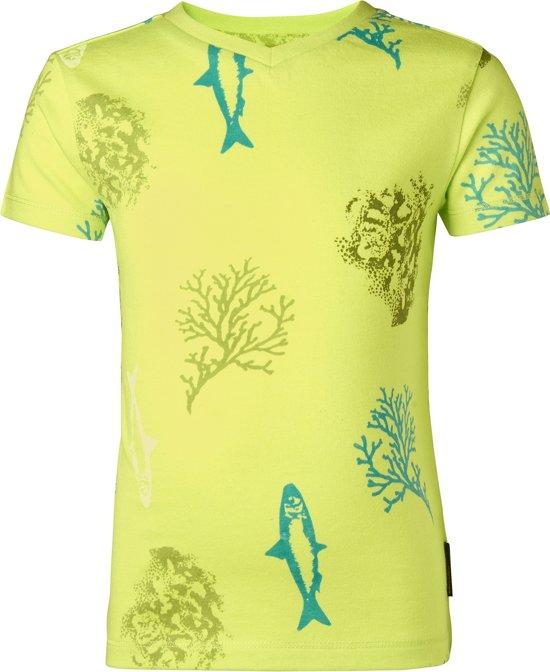 Noppies Jongens T-shirt - groen -  Maat 74
