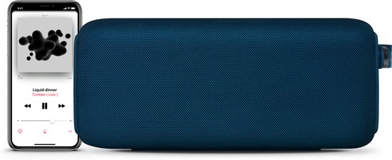 Fresh n Rebel Rockbox Bold L Blauw