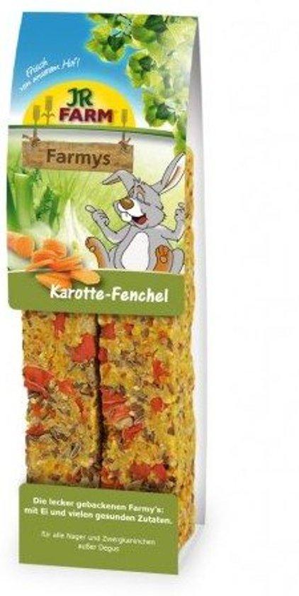 JR Farm Farmys wortelen-venkel 160g