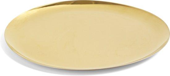 HAY Serving Tray XL gouden serveerschaal Ø35