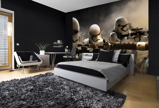 0cd6b74ead4f41 bol.com | Starwars - Behang - 254X184CM
