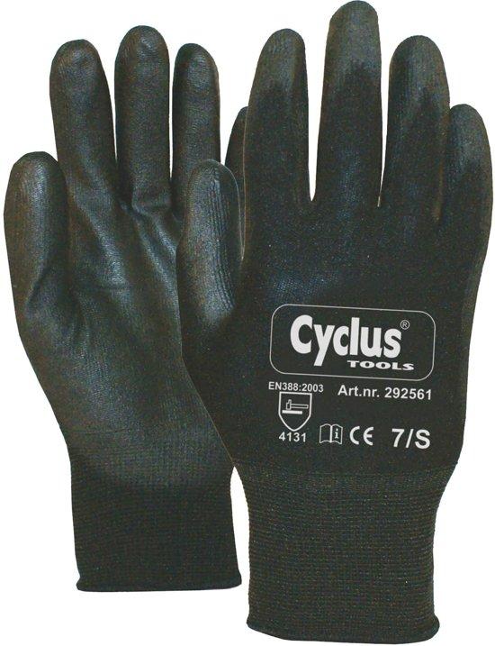 Cyclus handschoen WP S zw/rd