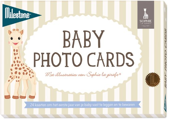 Milestone™ Baby Photo Cards - Sophie la Girafe