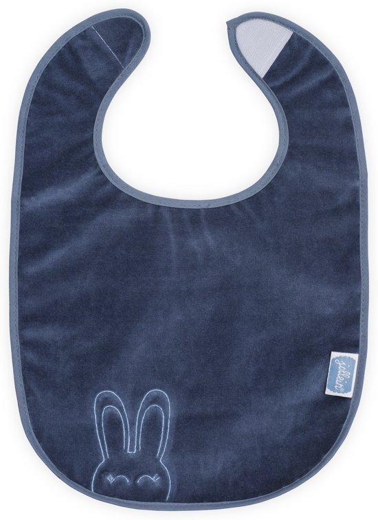 Jollein Sweet bunny slab waterproof velvet terry vintage blue