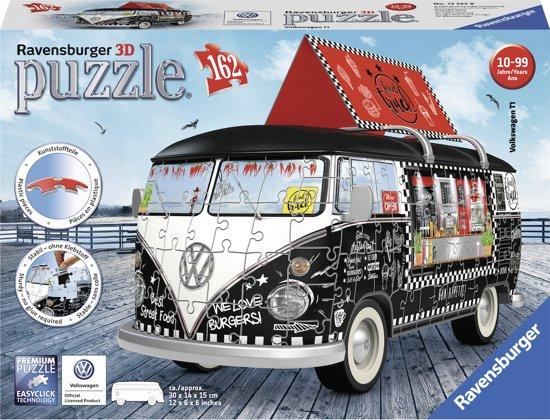 Ravensburger Volkswagen bus Food Truck - 3D puzzel - 162 stukjes